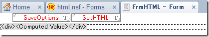HTML用のフォーム